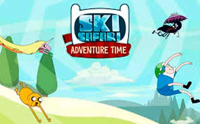 Ski Safari: Adventure Time много денег